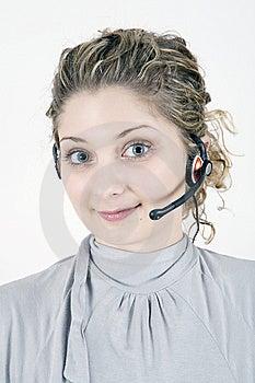 Customer Service Girl Stock Photos - Image: 8537493