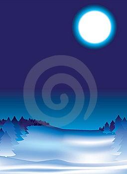 Snow Night Background Stock Photo - Image: 8537710