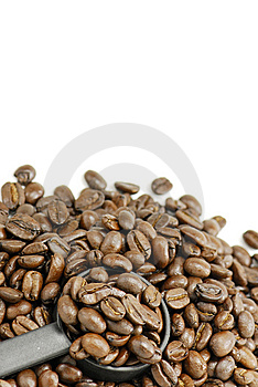 Coffee Beans Measuring Spoon Stock Images - Image: 8538664