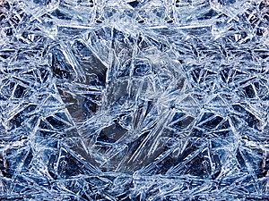 Ice Crystals Stock Images - Image: 8538704