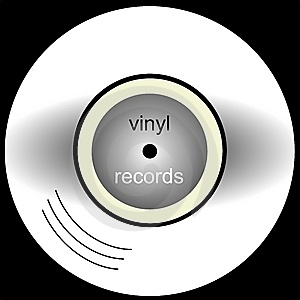 Vinyl Records Royalty Free Stock Photo - Image: 8538835