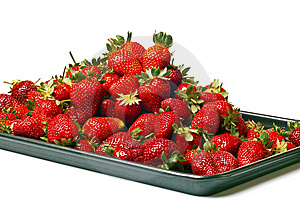 Red Strawberries Stock Image - Image: 8539311