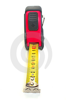 Roulette For Measuring Of Length Royalty Free Stock Photos - Image: 8539428