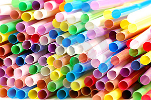 Cocktail Straws Royalty Free Stock Images - Image: 8539449