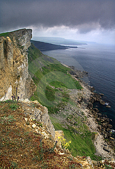 Gad Cliffs - Dorset Coast, England Royalty Free Stock Photos - Image: 8539708