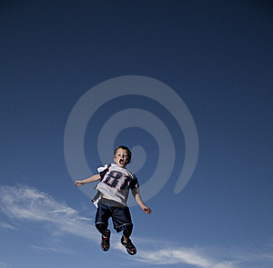 Boy Jumping Stock Photography - Image: 8539712