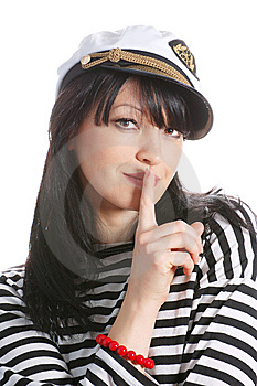 Woman Captain Stock Image - Image: 8540211
