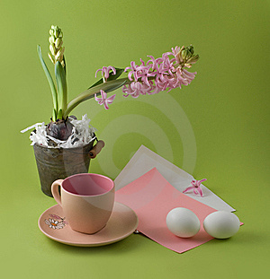 Easter Congratulation Stock Images - Image: 8540224