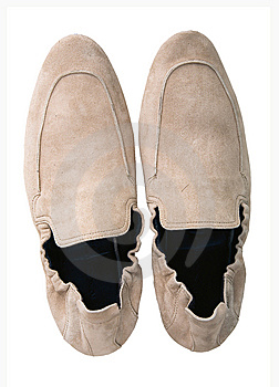 Man White Shoes Royalty Free Stock Photography - Image: 8540267