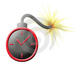 Time Bomb Royalty Free Stock Photography - Image: 8540297
