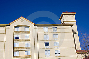 Pink Stucco On Blue Stock Photography - Image: 8540342