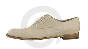 Man White Shoe Royalty Free Stock Photography - Image: 8540387