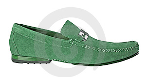 Man Shoe Stock Photo - Image: 8540580