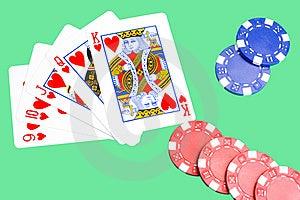 Straight Flush Royalty Free Stock Image - Image: 8540626