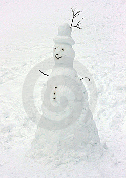 Snowman Royalty Free Stock Photography - Image: 8540657