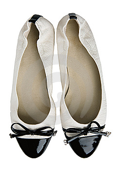 White Shoes Stock Photo - Image: 8540760