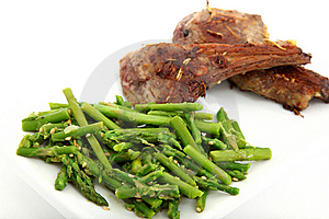 Ginger Lamb Chops Stock Photos - Image: 8540863