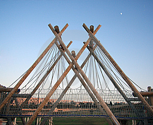 Pont En Bois Photos libres de droits - Image: 8540988