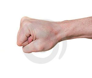 Clenched Fist Stock Photo - Image: 8541050