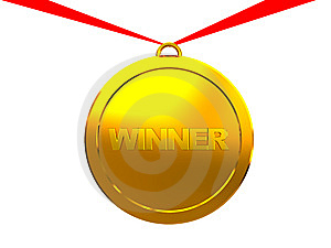 Winner Medal Royalty Free Stock Photos - Image: 8541218