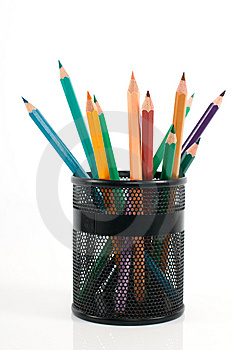 Colored Pencils Stock Image - Image: 8541341