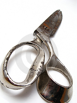 Old Scissor Royalty Free Stock Photography - Image: 8541597