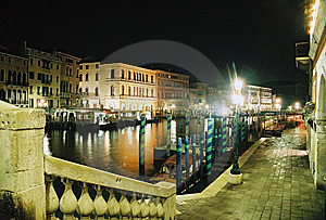 Venice From Rialto Bridge Stock Image - Image: 8542011