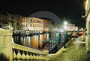 Venice From Rialto Bridge Stock Image - Image: 8542011