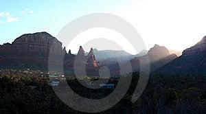 Sedona Sunrise Stock Photos - Image: 8542183