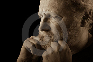 Worried Man Royalty Free Stock Photos - Image: 8542308