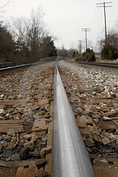 Railroad Tracks Royalty Free Stock Image - Image: 8542336