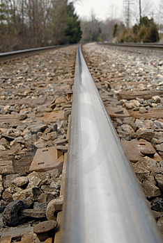 Railroad Tracks Royalty Free Stock Photography - Image: 8542387