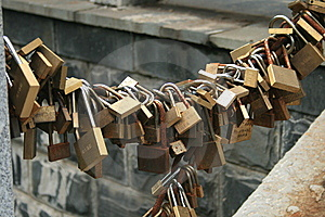 Lock Royalty Free Stock Photography - Image: 8542887