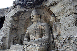 Stone Carving Of Yungang Grottoes Stock Image - Image: 8543461