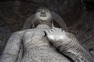 Stone Carving Of Yungang Grottoes Royalty Free Stock Images - Image: 8543469
