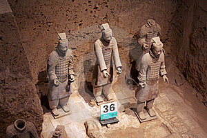 China/Xian:Terracotta Warriors And Horses Royalty Free Stock Photo - Image: 8543485