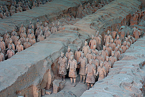 China/Xian:Terracotta Warriors And Horses Royalty Free Stock Photo - Image: 8543595