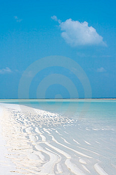 Summertime At The Agatti Beach Royalty Free Stock Photos - Image: 8543718