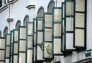 Singapore: Telok Ayer House In Chinatown Stock Photography - Image: 8543882