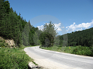 Lonely Road Stock Image - Image: 8544101