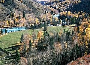 China/Xinjiang: Fall In Jiadengyu Royalty Free Stock Image - Image: 8544316