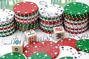 Casino Stock Photo - Image: 8544340