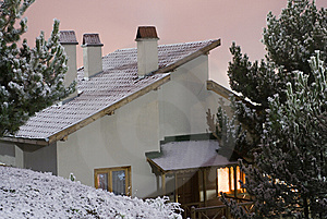 Mountain House Stock Photos - Image: 8544793