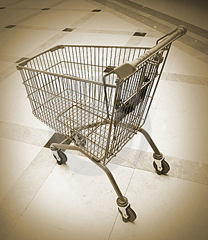 Shopping Cart Royalty Free Stock Images - Image: 8544849
