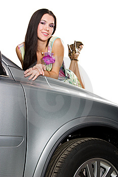 Pretty Driver Royalty Free Stock Photo - Image: 8545045