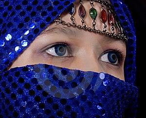 Blue Eyes Orient Stock Image - Image: 8545101