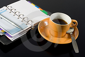 Coffee Break Royalty Free Stock Photography - Image: 8545127
