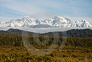 Mount Cook Range Royalty Free Stock Photo - Image: 8545295