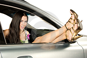 Pretty Girl And Legs Stock Photos - Image: 8545383