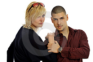Lovely Models Couple Royalty Free Stock Photos - Image: 8545778